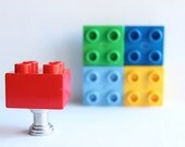 Duplo Drawer Knobs in Red (TK03)