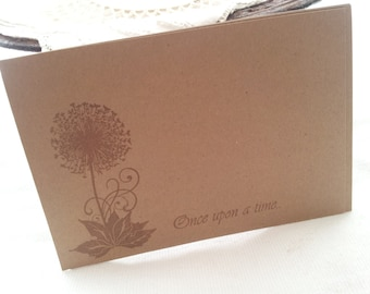 Wedding Wish Cards Dandelion Set of 25 Last Set Left