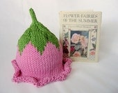 Knit Summer Flower Fairy Cotton Baby and Book gift