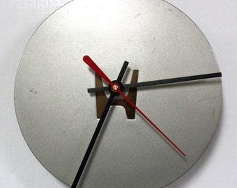 Retro Wall Clock from a 1986 - 1990 Honda Accord Center Cap - 1987 1988 1989