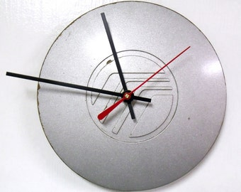 Recycled Wall Clock made from 1993 - 1996 Mercury Sable Center Cap - 1994 1995