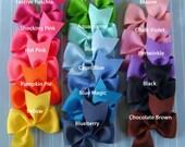 Pinwheel Hairbow You Pick 10 Pinwheel Hair Bows