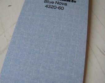 Wilson Art Laminate Sample Key Ring Blue Nova 1994 Free US Shipping
