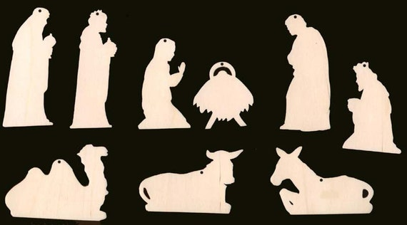 Simple Nativity Patterns For Wood  Wwwgalleryhipcom  The
