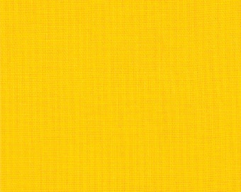 Yellow Moda Bella Solid Quilting Cotton Fabric 9900-24 - by the Yard - 1 Yard