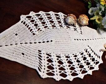 Crochet Fish Doily