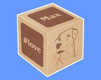 Create-Your-Own, Wood Block, Keepsake, Personalized