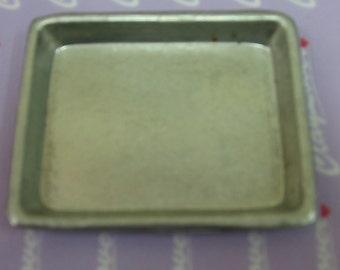 Miniature Aluminum Rectangle Tray