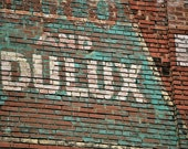 AND DULUX ghost advertising sign - photo