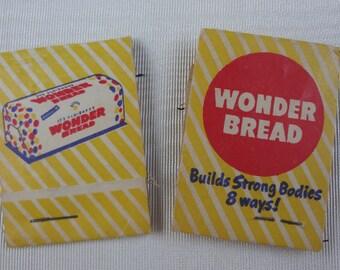 Vintage Advertising Wonder Bread  / 2 Stocking Repair Kits