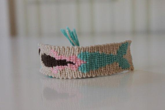 items similar to mermaid friendship bracelet on etsy