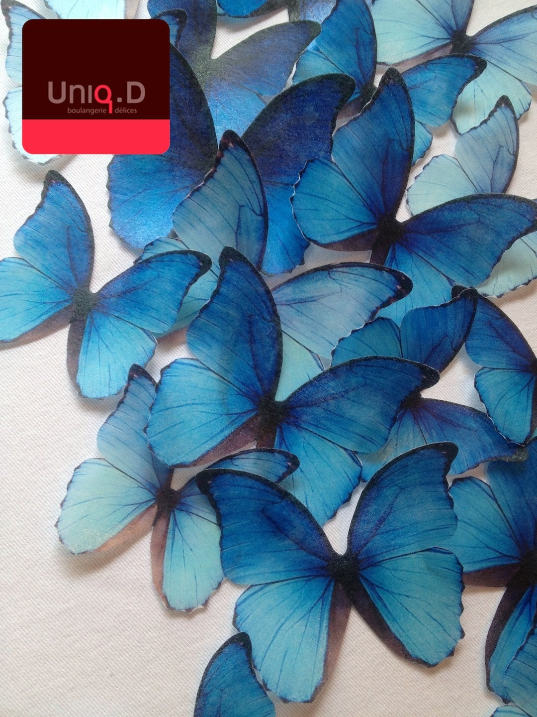royal blue edible butterflies BUY 35 4 FREE wedding cake