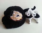 Anaheim Duckls Helmet and Ice Skates, NHL Ducks, Hockey Skates