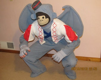 Wizard of Oz Costume  Nikko the Winged Flying Monkey/Made to order