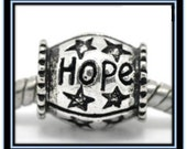 Hope Bead - Fits European Style Bracelets