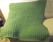 Green Crochet Afghan