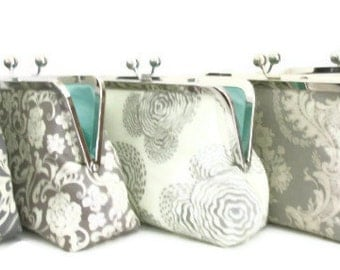Bridesmaids Clutches Bridesmaids Gift Bridesmaids Bags Customized Clutch Wedding Purse Bag