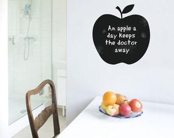 Blackboard Apple Wall Sticker