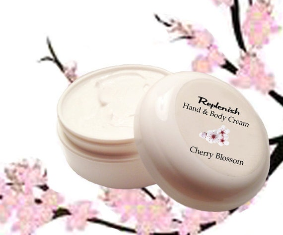Replenish Hand & Body Cream    Cherry Blossom