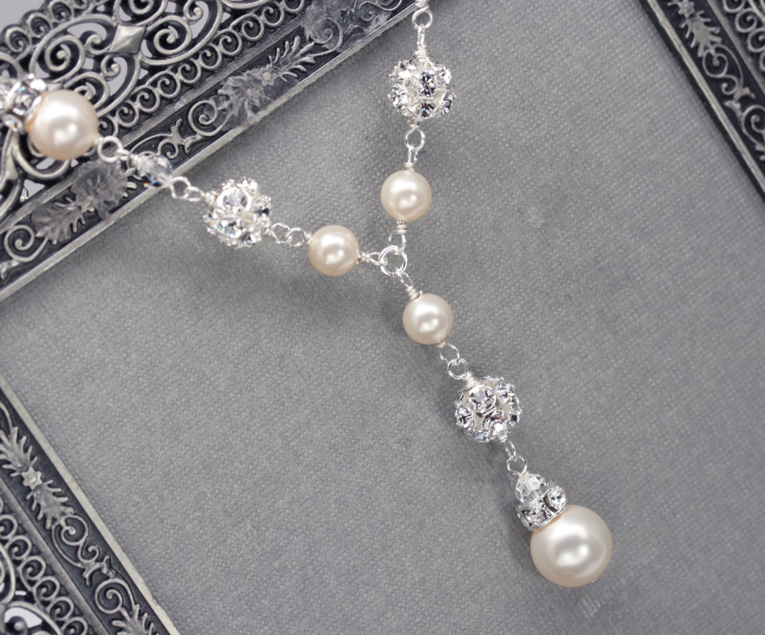 Pearl necklace  Etsy