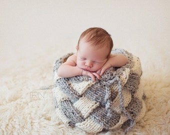 Weave Basket Photo Prop