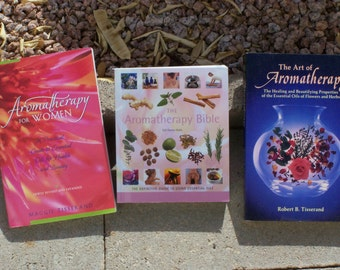 Aromatherapy books...guides, how-tos, art of