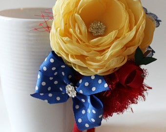 Snow White Inspired headband