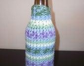 Crocheted Bottle Koozie Pattern - PDF