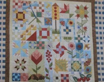 Patchwork Garden  Quilt Pattern by Possibilities