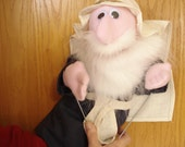 """Biblical woman Esther """"special order for Emily B"""" hand puppet"""