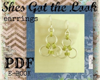 Shes Got the Look Earrings PDF - Basic Instructions - Expert Tutorial
