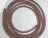 SIlverSilk AB Pearlesque Antique Copper Capture  - 3 Feet