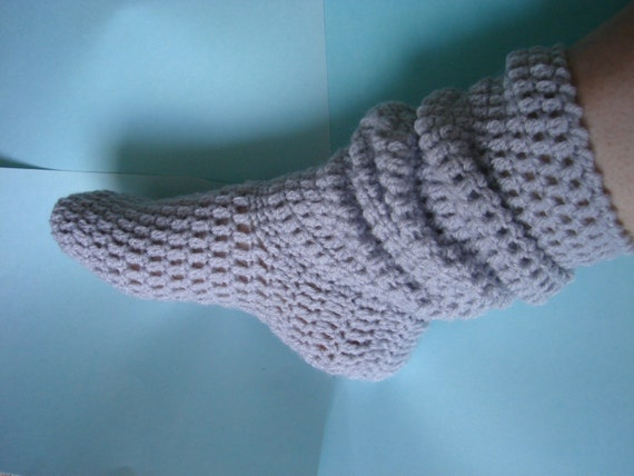 Instant download Baby slouch sock slipper bootie by ...