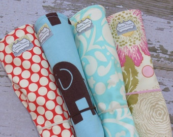 """The Couture Mama  Wipeable Travel Baby Changing Pad, regular size, 15""""x21""""- You choose the Fabric"""