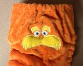 Lorax Embroidered OS Pocket Cloth Diaper