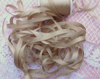 Pure Silk Ribbon 4mm 25 yds Campagne Color
