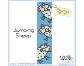 Peyote Pattern for bracelet - Jumping Sheep - INSTANT DOWNLOAD pdf - Multibuy savings with coupon codes