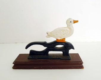 Vintage Duck Nut Cracker