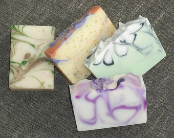 4  Soaps for 20 DOLLARS / Your Choice of Soap /Artisan Soap / Cold Process Handmade Soap