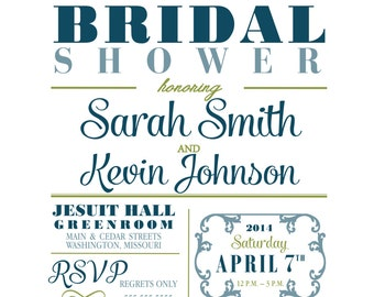 Bridal Shower Invitation - Spot Of Tea