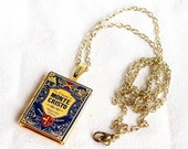 Count of Monte Cristo Book Locket with Chain