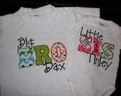 Sibling Shirt, BRO SIS Shirts, Brother Sister Shirts, Big Brother Little Sister, Big Sister Little Brother, New Baby Set, Sibling Set