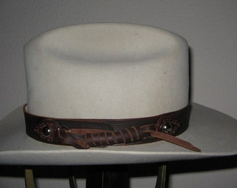Custom made to order hat band - 10/12 week delivery
