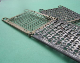 Vintage Double Vegetable / Cheese Grater / Strainer