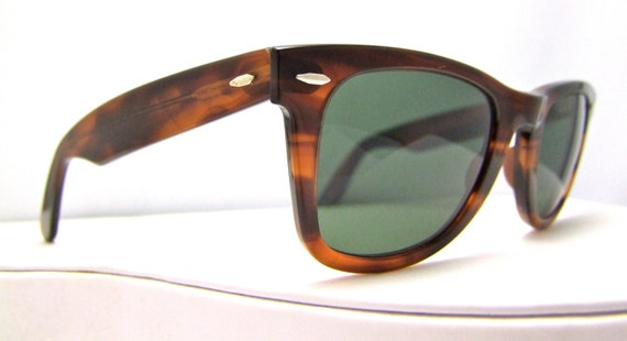 ray ban sunglasses made in usa  vintage ray ban wayfarer tortoiseshell vintage sunglasses original made in usa