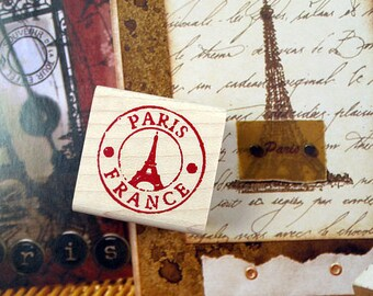 Lovely Post Stamp of France with Effel