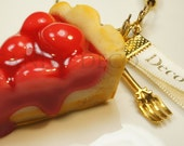 Cherry Pie Keychain/Bag Charm