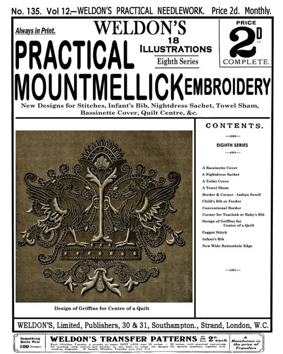 Weldon s c mountmellick embroidery th book