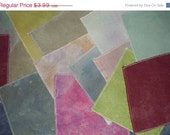 New Years Blowout Sale Ayrloom Smalls  Hand Dyed Cross Stitch Fabric 9x14 Aida Assorted Counts and Colours