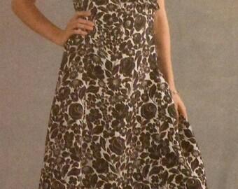 Vogue Wrap Dress and Top Sewing Pattern UNCUT Vogue V8186